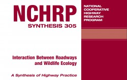 Interaction Between Roadways and Wildlife Ecology: A Synthesis of Highway Practice