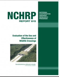 Evaluation of the Use and Effectiveness Of Wildlife Crossings