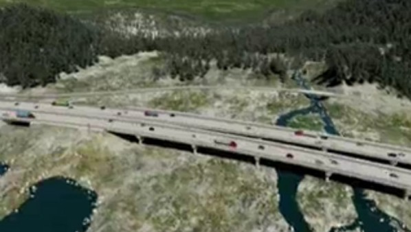 I-90 Snoqualmie Pass East Design Visualization